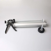 Popular Aluminum Tube 600ml Sausage Caulking Gun