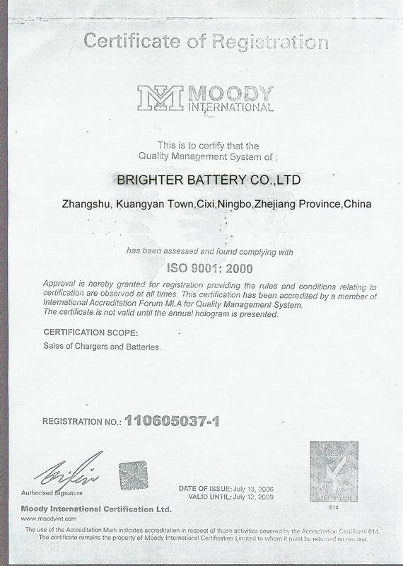 lithium battery 18650 from ningbo factory