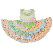 high quality baby frocks designs summer flower boutique girls dress