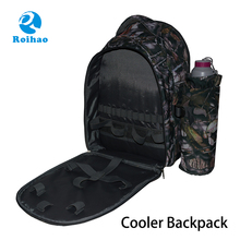 Roihao Supplier Insulated Picnic basket thermos Cooler Bag Backpack basket thermos with Cooler Compartment