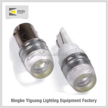 1W T10 12 volt automotive led lights