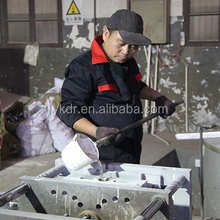 China aluminum foundry supply aluminum gravity casting and cnc machining