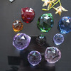 30mm Faceted Crystal Ball K9 Material