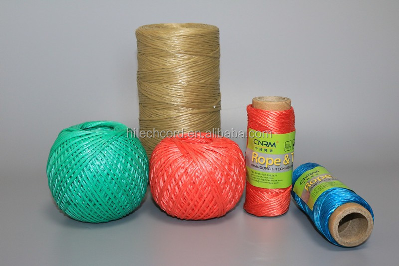 agriculture 2200Tex  PP Baler Twine Spool Ball for greenhouse tomato tree