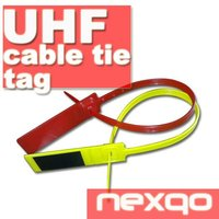 Plastic RFID security cable tie tag