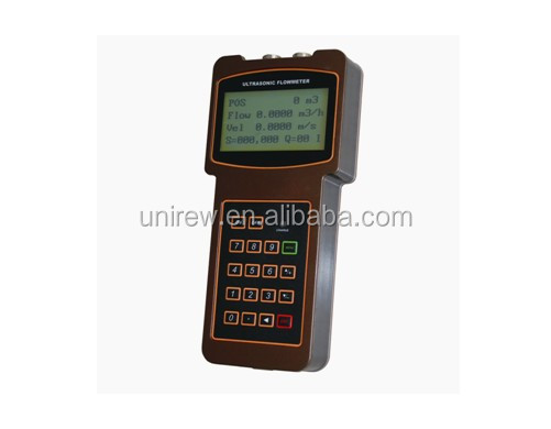URNDT TUF-2000H Handheld Ultrasonic Flowmeter Magnetic Water Flow Meter High Quality Good Fame