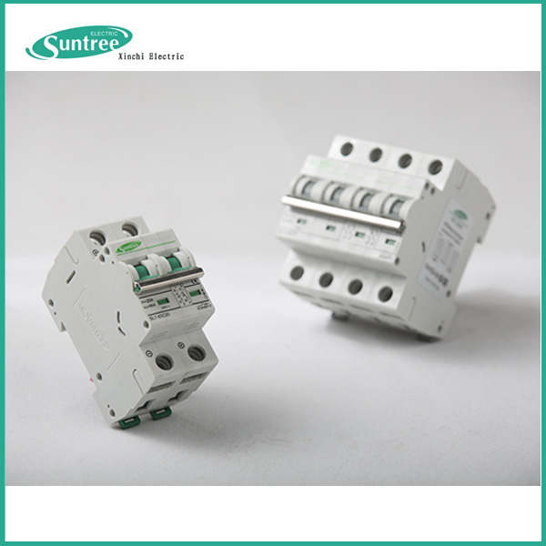 SL7 Miniature circuit breaker Electric MCB Size 1A-63A