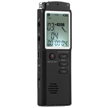 2 in1 T60 Professional 8GB Time Display Recording Digital Voice / Audio Recorder Dictaphone MP3 Player Grabadora De Voz