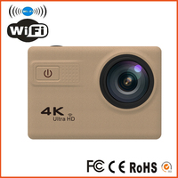 F68 Ultra HD 2.0 Inch 70-170 Degrees Wide-angle 4K 20MP Time Lapse Mini Camera with Zoom