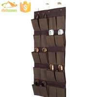 fabric door underwear hanging storage organizer