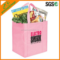 pink non woven tote bag for promotion