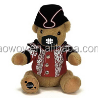 custom logo imprinted hat mask cool teddy bear stuffed bears t-shirt bandana ribbon band dress bib tie animal toys101