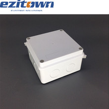 abs 3x3 pvc 10 pair mini terminal waterproof plastic electric distribution box ip65 pvc junction pvc terminal connection box