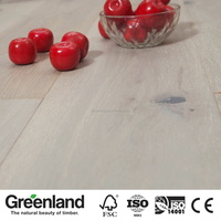 12MM/15MM thickness Top Quality Wide Plank Washed White Engineered OAK Wood Flooring for Home Decoration