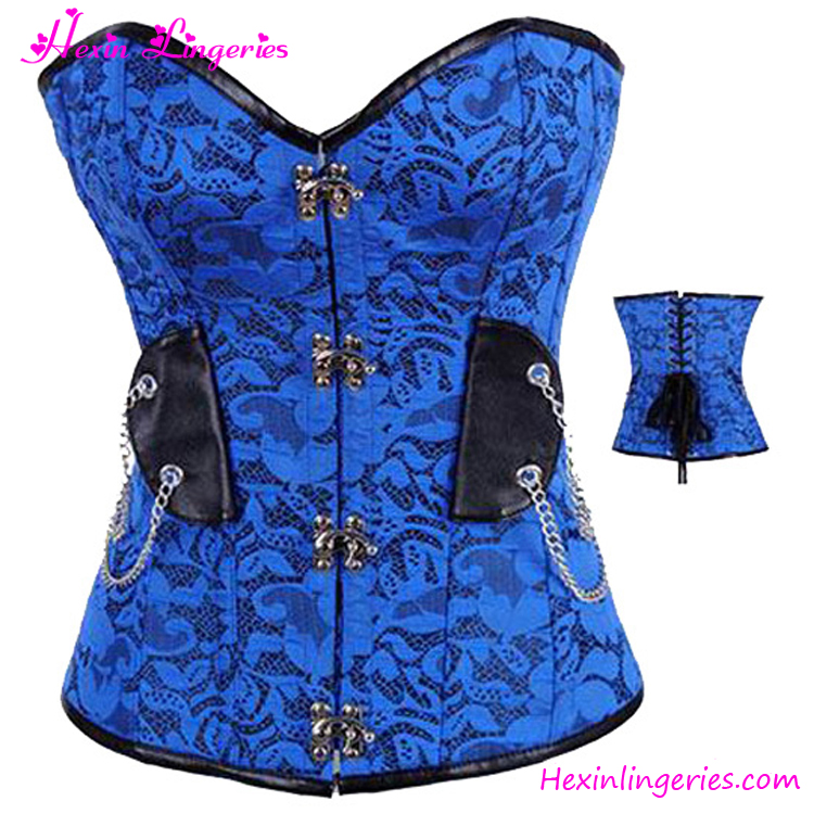 Fast Delivery Fat Women Blue Open Hot Women Photo Sex Corset