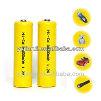 NiCd aa Rechargeable battery nicd long life rechargeable battery