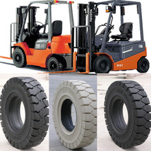 China high quality solid tire 300-15 8.25-20 6.50-10 7.00-15 2 ton 6 ton 7 ton 8 ton Toyota forklift parts