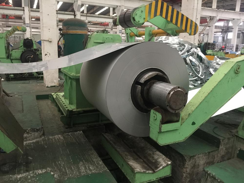 420j1 stainless steel sheet in coil, cold rolled, bright annealed 2B surface