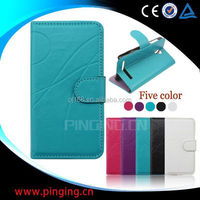 Hot selling mobile phone case design flip leather cover for Huawei Ascend Mate 7