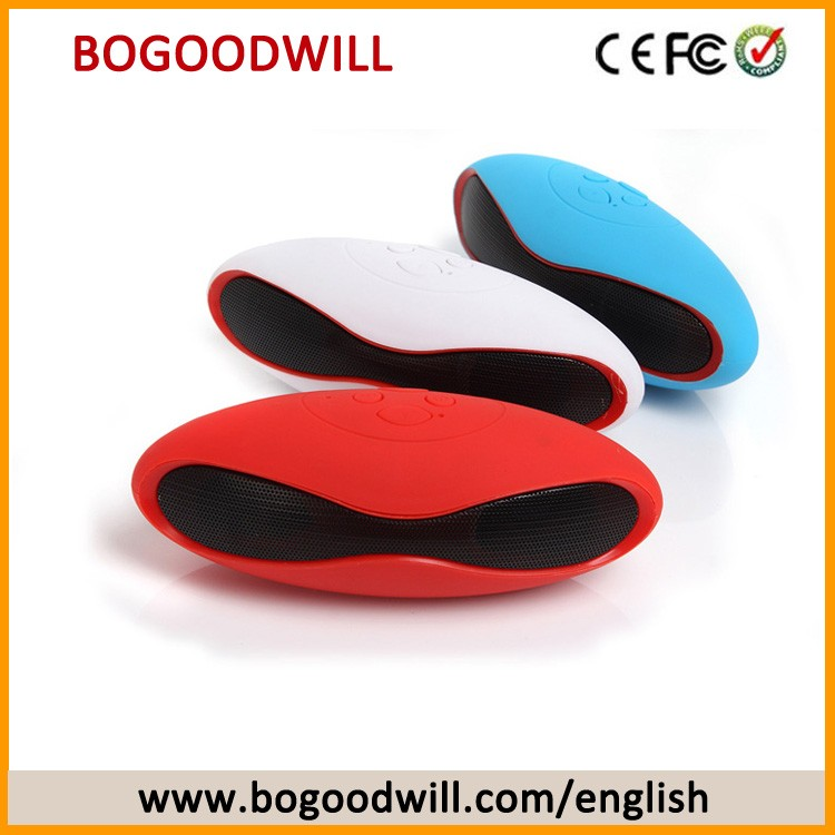 2016 new products rugby shape mini portable bluetooth speaker with fm radio buy rugby shape