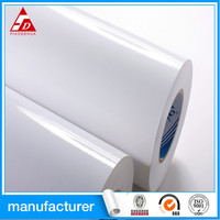 Cast coated / high gloss / mirror adhesive paper