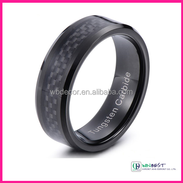 Tungsten Carbide Ring Fashion Ring Jewelry Ring