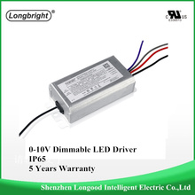 Waterproof IP65 0-10v LED dimmable Driver Dimmable LED Power Supply 40W LED dimming driver