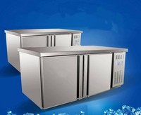 Horizontal cabinet console commercial refrigerated freezer stainless steel commercial kitchen cabinet