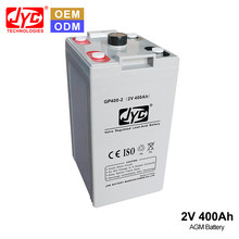 High Quality AGM Acid Lead 2V 400AH used Deep Cycle Telecom and Solar Battery Australia for Sale