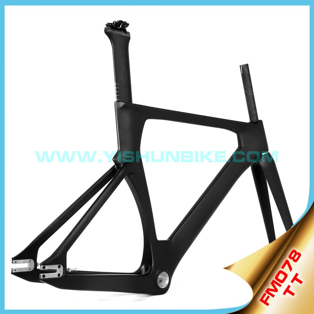 700C super light frame carbon BSA/BB30 frame bike aero Time track UD/3k carbon road frame FM078