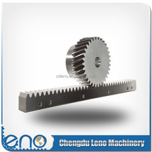 module 2 steel cnc gear rack and pinion
