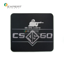 "Excellent quality OEM anti-slip eco-friendly natural rubber + fabric ""csgo"" game mouse pad with logo/pattern printed"