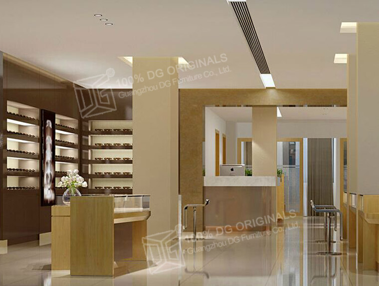 Interior Design Fashion Display Retail Optical Shop