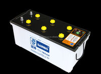 Lead Acid Dry Charged Car Battery for Model N180 12V180ah