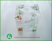 whosale PVC/PET/PPclear custom plastic box packaging