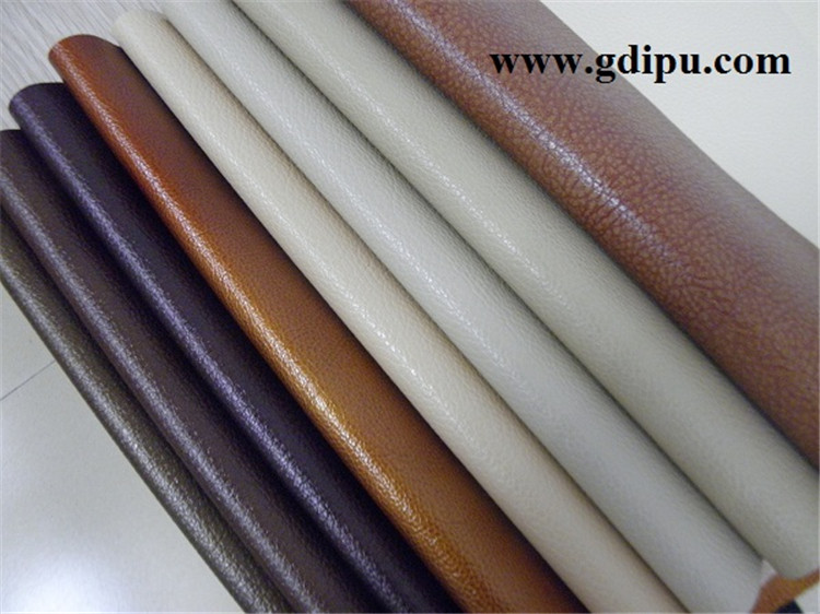 knitted fabric pvc synthetic leather for sofa / shoes / car seat cover
