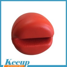 Eco-friendly Custom standard Round Red nose anti stress ball reliever