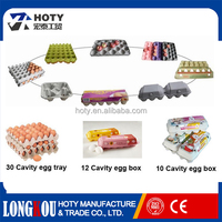 Eco-friendly custom paper pulp egg tray for duck ,quail ,chicken and bird eggs