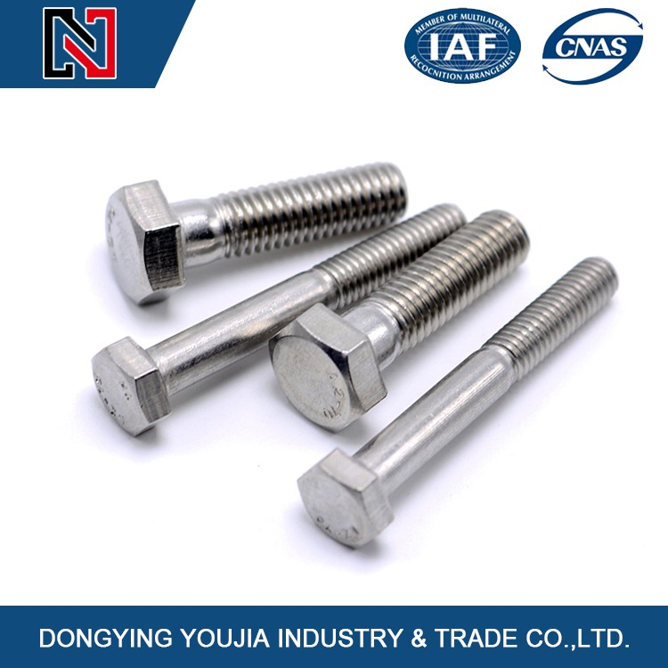 Hot sale hex head stainless steel nut bolt