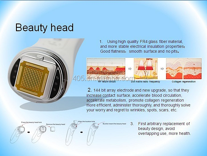 Portable Style RF machine for home use Type skin massager machine