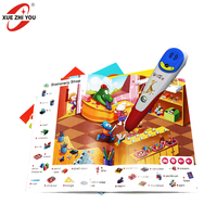 Learning Machine Magic Talking Pen Bluetooth Reading Pen OID Books Touch Pen Customized Supplier