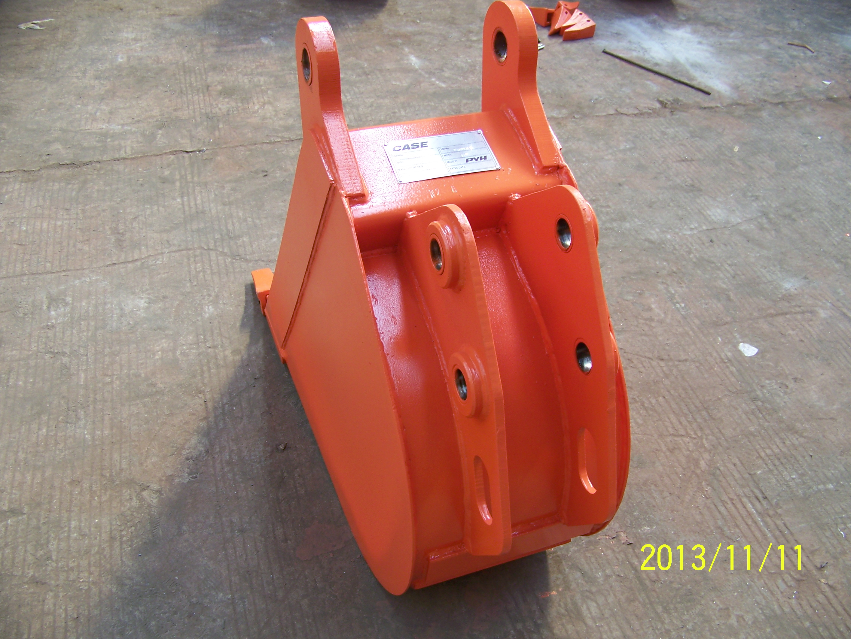Factory wholesale back hoe bucket for sale