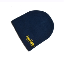 New Hat Warm Embroidery Beanie Acrylic Winter Cap Work Skiing Hunting Hat