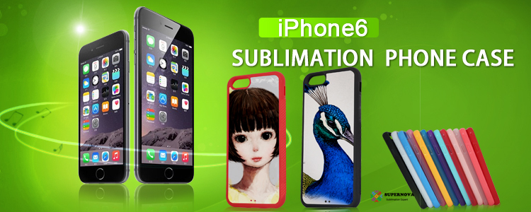 2D Sublimation Transfer Phone Case for iPhone 6