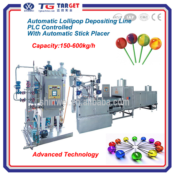CE Approved Ball Lollipop Making Machine for Industrial Use