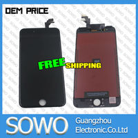 smartphone lcd digitizer for iphone 6 plus lcd assembly with touch screen display complete