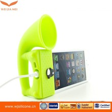 Suit for all types mobile phone speaker case with loud speaker, portable speaker case