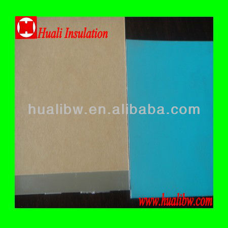 embossed aluminum composite sheet coating wth moisture barrier