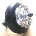 24v 250w electric wheelchair brushless gearless dc motor