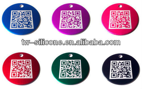 Dog Tags QR Code Pet Tags Engraver